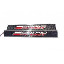 C7 Corvette Illuminated Grand Sport Door Sill Plates