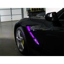 C7 Corvette RGB Fender Cove/Hood LED Lighting Kit With Key Fob Control