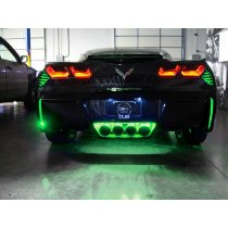 C7 Corvette RGB Rear Fascia LED Lighting Kit