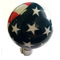 C7 Corvette Shift Knob Custom AirBrushed American Flag