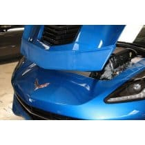 2014-2019 C7 Corvette Speed Lingerie Color Matched Front Hood Mask