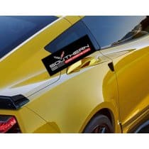 C7 Corvette Z06 Painted Quarter Panel Ducts