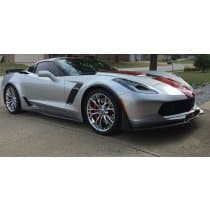 2014-2019 C7 Corvette Stingray Z06 Painted Front Splitter Stage 3