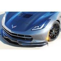C7 Corvette LG Motorsports Front Splitter Carbon Fiber