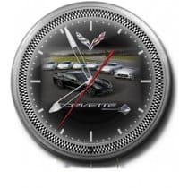 C7 Corvette Clock w/C7 Stingray Car