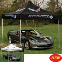 C7 Corvette Stingray Pop Up Canopy