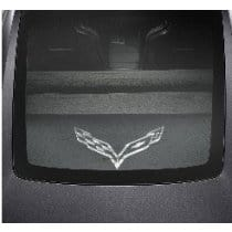 C7 Corvette Security Cargo Shade w/ C7 Logo