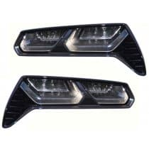 C7 2014-2018 Corvette Z06 Clear Tail Lights Pair