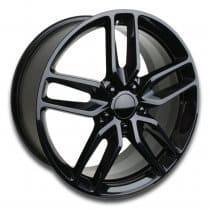 C7 Corvette Stingray Z51 Wheel - Black Single