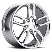 C7 Corvette Stingray Z51 Wheel - Chrome Single