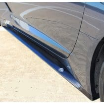 C7 Corvette LG Motorsports Side Skirts Carbon Fiber