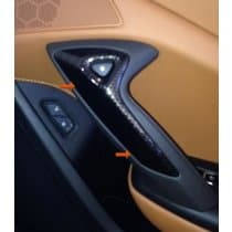 C7 Corvette Hydrocarbon Passenger Door Handle Bezel