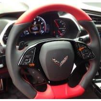 C7 2014-2018 Corvette Hydrocarbon Steering Wheel Bezel