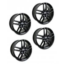 2014-2019 C7 Corvette Z51 Style Black Wheels (Set)