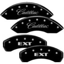 2002-2006 Cadillac EXT GM Licensed Engraved Black Caliper Covers