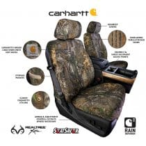 Covercraft Carhartt Real Tree Camo Seat Covers