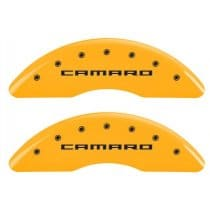 2016-2018 Camaro Caliper Covers Yellow w/RS,SS or Camaro Logo