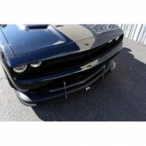 carbon fiber apr performance front splitter for dodge challenger srt and scat pack