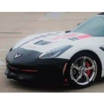C6 Corvette Colgan Bumper Bra Black or Carbon Fiber