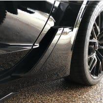C7 Corvette Z06 Painted Quarter Panel Brake Duct Scoop Covers