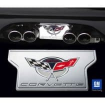 Corvette Exhaust Plate Commemorative Edition