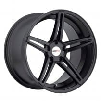 C7 Corvette Cray Brickyard Matte Black Machined Face Wheel