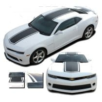 2010-2015 Single Stripe Hood and Deck stripe kit