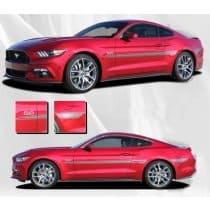 2015-2017 Ford Mustang Lance Stripe Kit