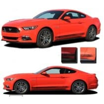 2015-2017 Ford Mustang Breakup Stripe Kit