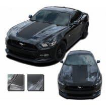 2015-2017 Ford Mustang Mega Hood Stripe Kit