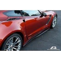 C7 Corvette Z06 APR Carbon Fiber Side Rockers Skirts