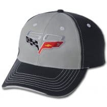 C6 Corvette 60th Anniversary Two-Tone Hat