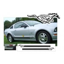 2015-2017 Ford Mustang Pony Side Stripe Kit