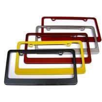 C7 Corvette Painted Rear License Plate Frame