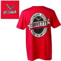 C7 Corvette Labeled T-Shirt