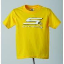 C7 Corvette Stingray Toddler T-Shirt Yellow