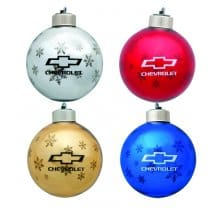 Chevrolet Bowtie Christmas Tree Ornaments