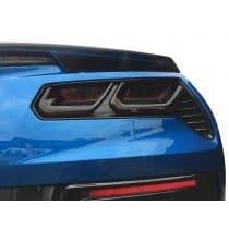 C7 Corvette Molded Acrylic Taillight Covers Smoked