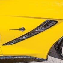 2014-2019 C7 Corvette Trufiber Carbon Fiber Front Fender Vents