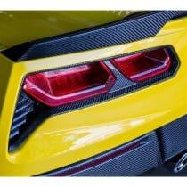2014-2019 C7 Corvette Trufiber Carbon Fiber Rear Taillight Bezels