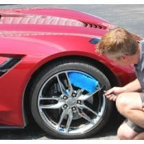 Chrome Rim and Wheel Cleaning Brush