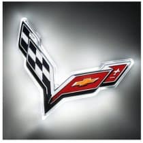 2014-2019 C7 Corvette LED Rear Emblem Illuminated