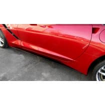 2014-2019 C7 Corvette Painted Side Skirts Package Stage 2