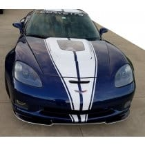 C6 Corvette ZRAL Signature Series Painted Front Chin Splitter
