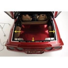 C5 1997-2004 Corvette Rear Deck Trim Panels 3pc Set