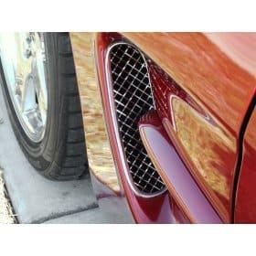 C5 Corvette Laser Mesh Front Fender Side Vent Grilles