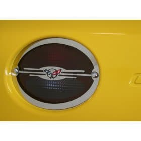 C5 Corvette Executive Taillight Bezels Package