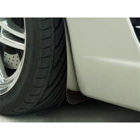 C6 Corvette Polished Stainless Steel Splash Guards Mud Flaps