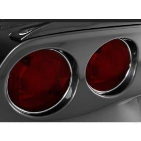 C6 Corvette Chrome Vinyl Taillight Trim Kit