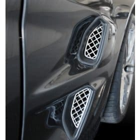 C6 Corvette ZR1 Front Fender Mesh Grills